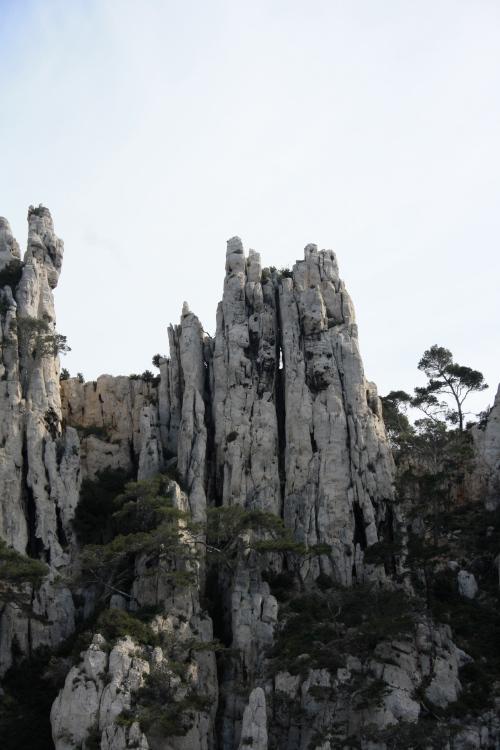 Calanque de Cassis-France.