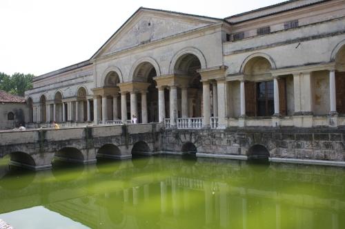 Palazzo Te-mantova. Aprile 2009.