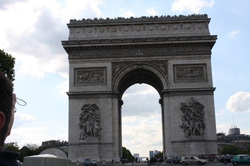 Arc de triomphe-Paris-France.